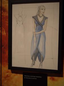 Concept Costume Art for Dani
