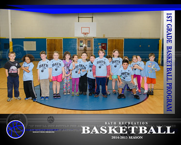 1st Grade Team 2014-15 B