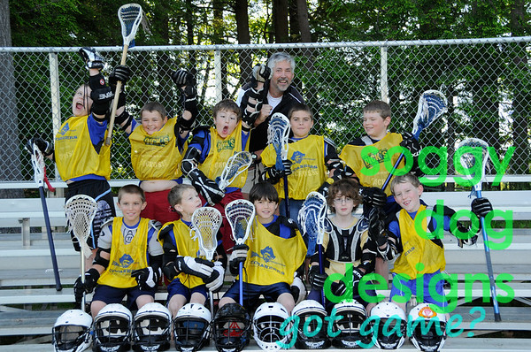 Wait!  This is 2009's team photo!  In case you missed the shots from last season, when you're finished here, scroll down the Check You Out! galleries and find the Boys 3-8th 2009 gallery!