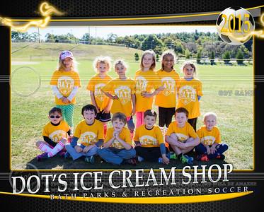 DOT'S ICE CREAM SHOP 8X10 TEAM