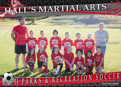 HALL'S MARTIAL ARTS team 5x7