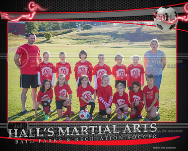 HALL'S MARTIAL ARTS  Team