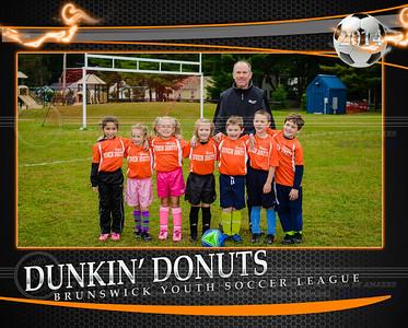 Dunkin Donuts team
