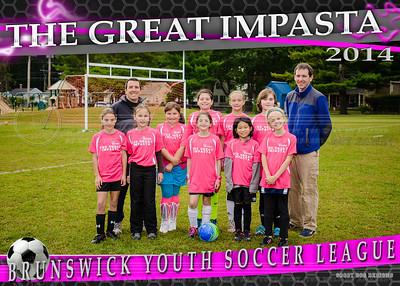 The Great Impasta 5x7 team