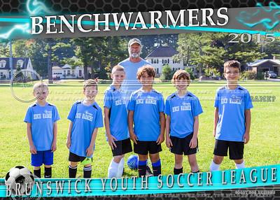 Benchwarmers 5x7 Team