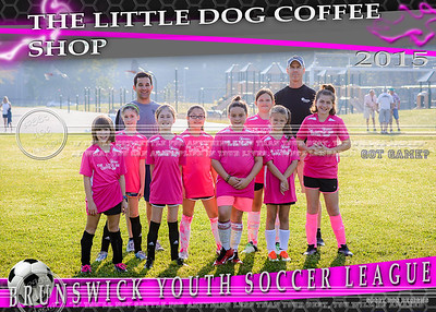 Little Dog Coffee 5x7 Team