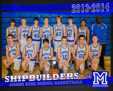 2013-14 JV Boys Basketball team base