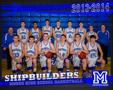 2013-14 Varsity Boys Basketball team base