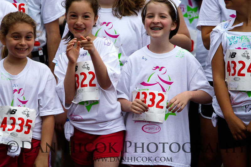 Girls on the Run of Northern Virginia's annual spring 5K run at Fair Oaks Mall.