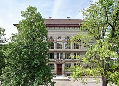 01 Ansicht Hauptzugang Schulhaus Rittergasse, Basel