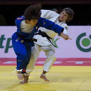 2017 Suzuki World Judo Championships Budapest Day2, Ai Shishime, JPN, Natalia Kuziutina, RUS_BT_NIKON D4_20170829__D4B1002