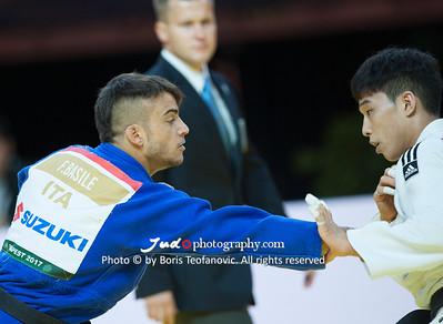2017 Suzuki World Judo Championships Budapest Day2, Baul An, Fabio Basile, ITA, KOR_BT_NIKON D3_20170829__D3C1571