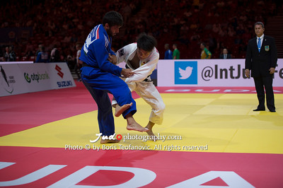 2017 Suzuki World Judo Championships Budapest Day2, Hifumi Abe, Joao Crisostomo, JPN, POR_BT_NIKON D4_20170829__D4B0740