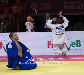 2017 Suzuki World Judo Championships Budapest Day5, Krisztian TOTH, Nemanja Majdov_BT_NIKON D4_20170901__D4B6439
