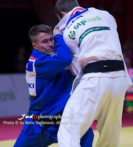 -81kg, 2017 Suzuki World Judo Championships Budapest Day4, Alexander Wieczerzak, CAN, VALOIS-FORTIER Antoine, Weltmeister 2017_BT_NIKON D4_20170831__D4B4060