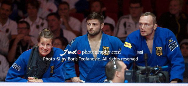 2017 Suzuki World Judo Championships Budapest Day7 Teams, Anna-Maria Wagner, Dimitri Peters, Marc Odenthal_BT_NIKON D3_20170903__D3C5215