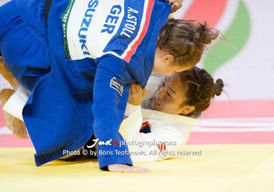 2017 Suzuki World Judo Championships Budapest Day7 Teams, Amelie Stoll, Sumiya Dorjsuren_BT_NIKON D3_20170903__D3C5130