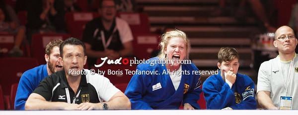 2017 Suzuki World Judo Championships Budapest Day7 Teams, Claudiu Pusa, Nieke Nordmeyer, Richard Trautmann, Sebastian Seidl, Szaundra Diedrich_BT_NIKON D3_20170903__D3C5615