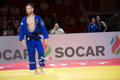 2017 Suzuki World Judo Championships Budapest Day7 Teams, Bundestrainer, Claudiu Pusa, Lisa Dollinger_BT_NIKON D4_20170903__D4B8176