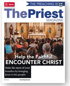 Priest magazine cover