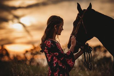 8410 Sophia & Horse
