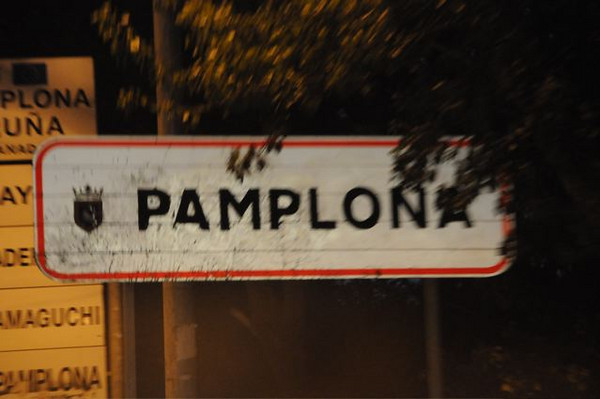 Paris to Pamplona on the road