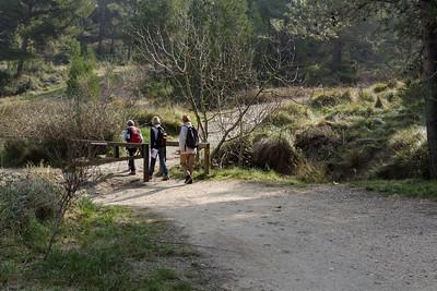 Remontée à droite vers Castillon - Km 7,40