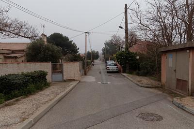 Fos gare - Rue de Lafarge - Km 4,10