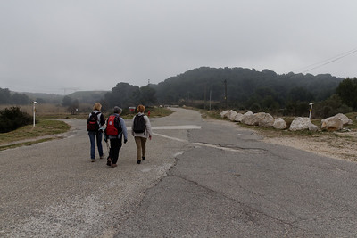 Sortie de Fos - Chemin de Valentoulin - Km 5,10