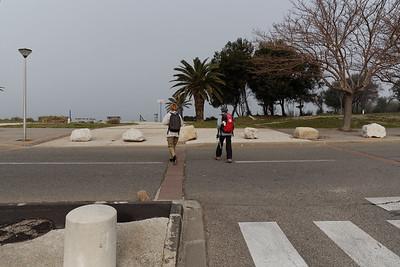 Traversée avenue De Gaulle - Km 1,05