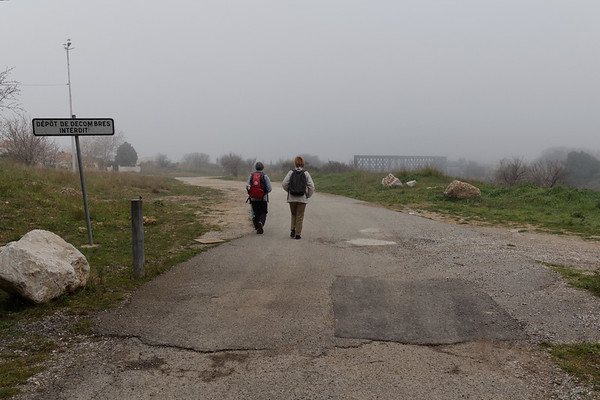 En allant vers le pont SNCF - Km 2,35