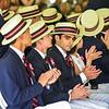 Samir Kumar Malhotra, center, is part of the Sixth Form, or class, for The Groton School 2018.   SUN/Scot Langdon