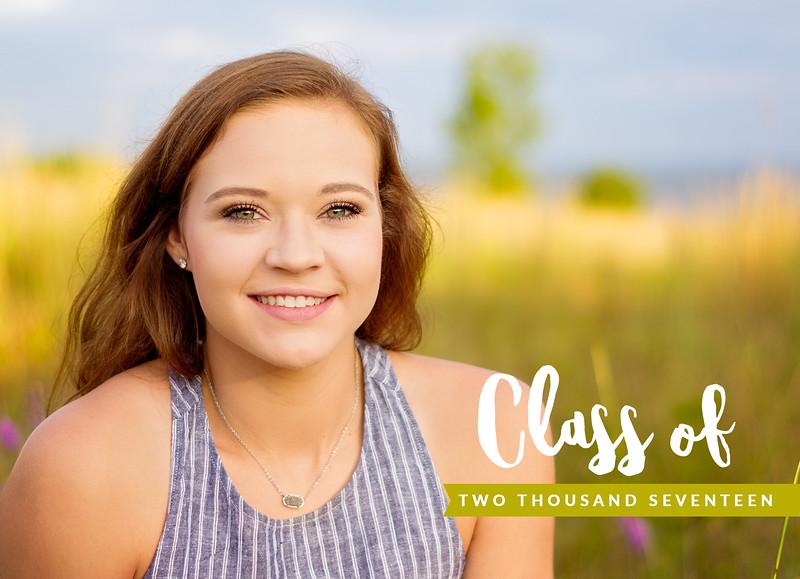Alyssa Graduation Announcement FRONT