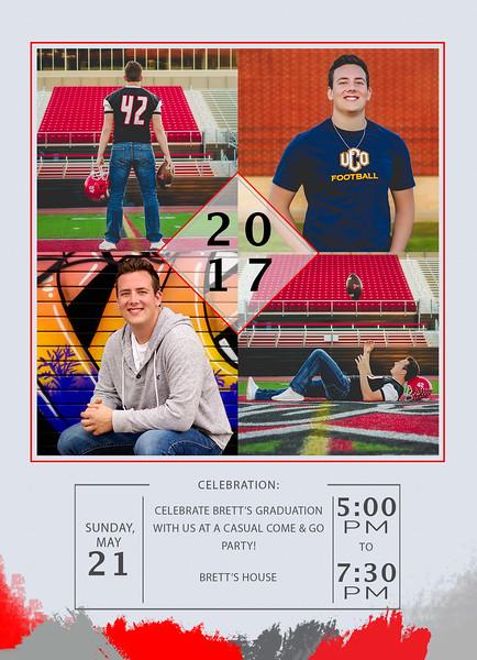 Brett Graduation Announcement Front2 Adv