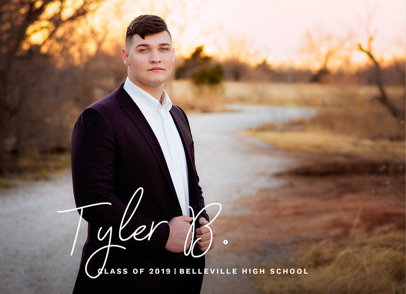 Tyler Graduation Announcement FRONTadv