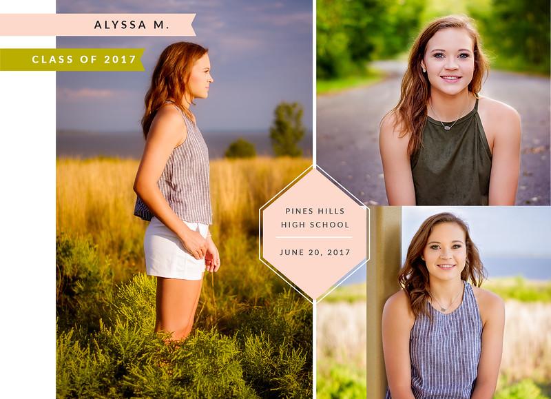 Alyssa Graduation Announcement BACK
