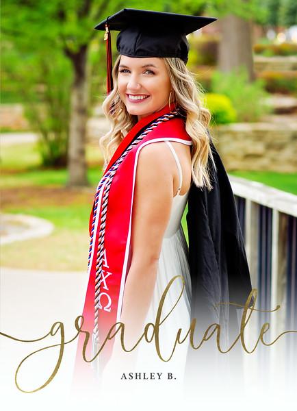 Ashley Graduation Announcement FRONTadv