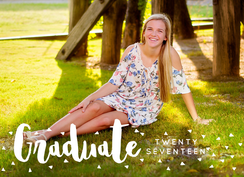 Ashton Graduation Announcement FRONT