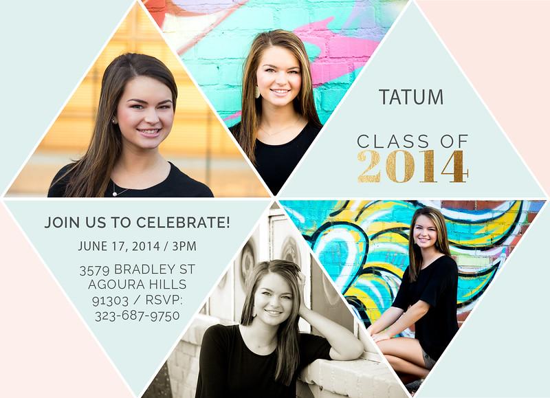 Advertisment Tatum Front