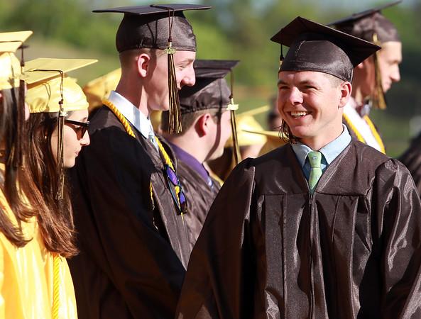 DAVID LE/Staff photo. 5/22/15. Bishop Fenwick High School Graduation May 22, 2015.