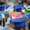Scenes from Salem High School graduation ceremony on Grant Field at Salem High School