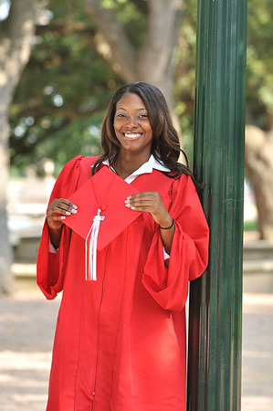 Dymond Nobles | Cap & Gown 2012