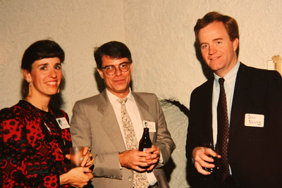 10th; 1975 - Judy Wagner & Barry Hoffmaster & Don Sherry (Judy's husband)