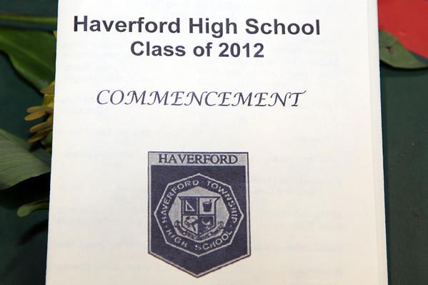 HAVERFORD HIGH 2012 GRADUATION