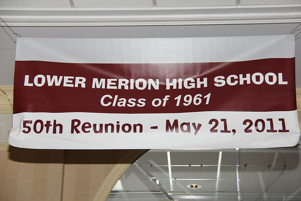 LOWER MERION'S 50TH REUNION - MAY 2011