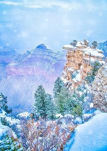 GRAND CANYON WINTER MORNING