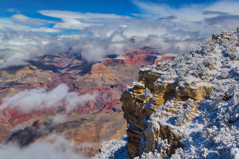 Grand Canyon After the Snow