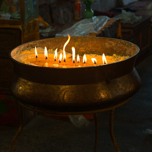 Yak Butter Candles, Drepung Monastery
