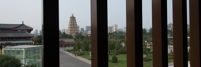 View of the Giant Wild Goose Pagoda from the Westin Hotel