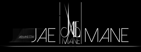 Logo created for JaeMane Hair.